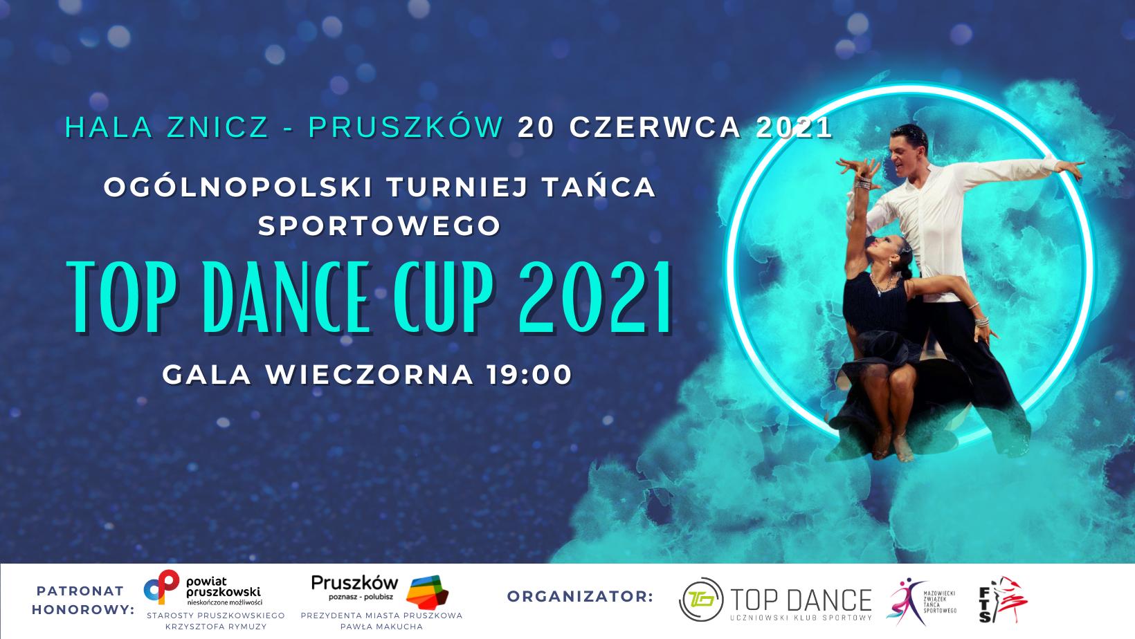 top dance cup 2021 banner